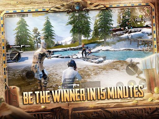 Chơi game PUBG Mobile