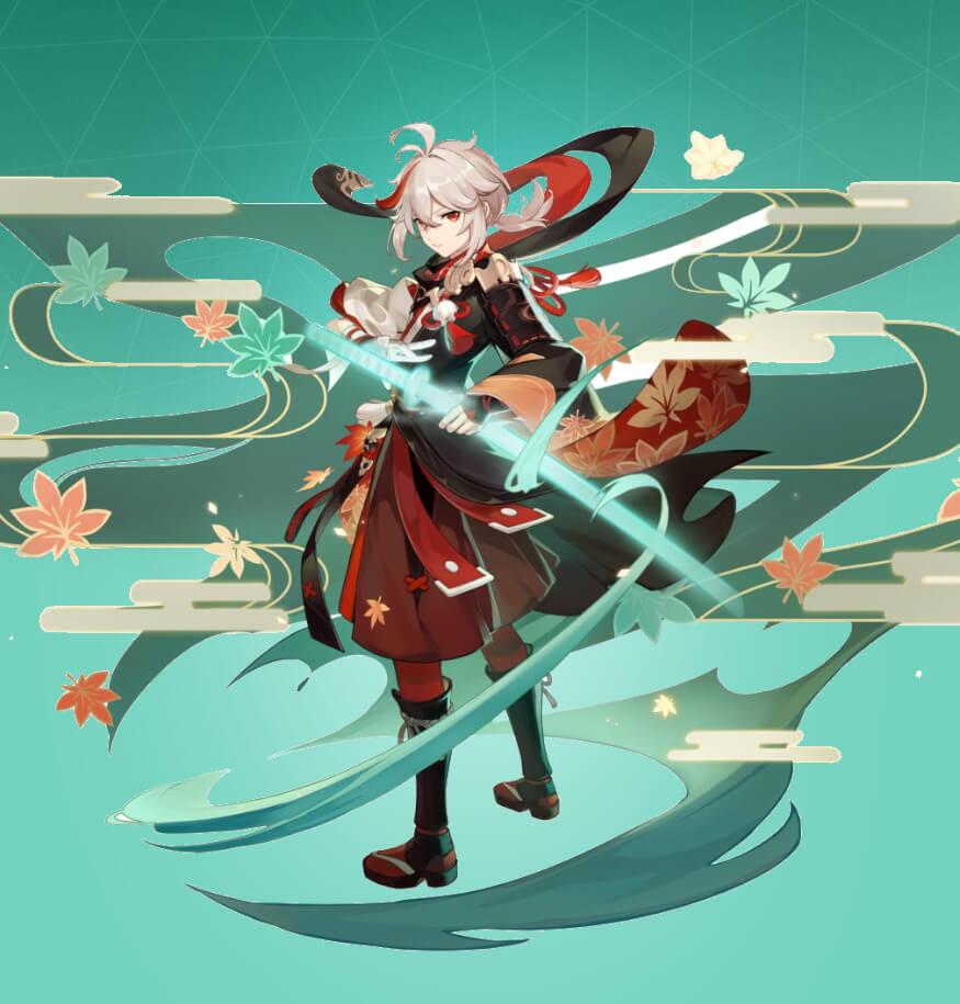 Kazuha in Genshin Impact