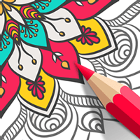 Adult Coloring Book cho iOS