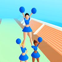 Cheerleader Run 3D cho iOS