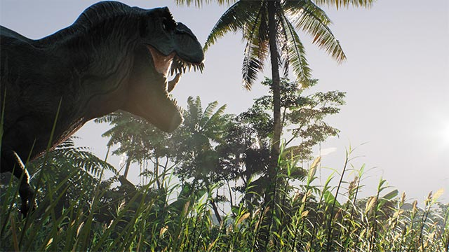 Each dinosaur in the Primal Dominion game is AI controlled.